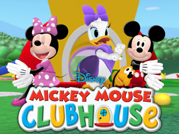 MINNIE MOUSE, DAISY DUCK, PLUTO, MICKEY MOUSE